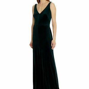 Lauren by Ralph Lauren Velvet Gown